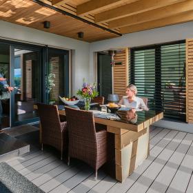 Terrace Massive Pro – terasy s povrchovou úpravou odolnou proti skvrnám