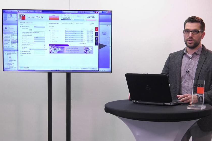 Baumit Tools – Přednosti plug-in verze pro technologii BIM v názorných videoprezentacích