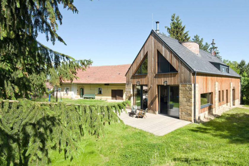 Ze stodoly rezidence