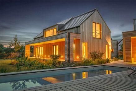 House - dřevostavba, která vás nadchne