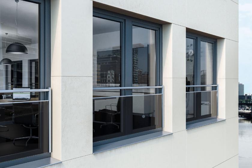Bezpečné nerušené výhledy z oken od podlahy až ke stropu