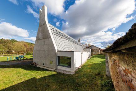 Centrum Caolinum: Nová architektura uprostřed vesnice