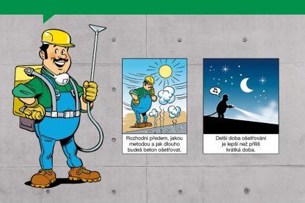 Návod na použití betonu – Ošetřování betonu