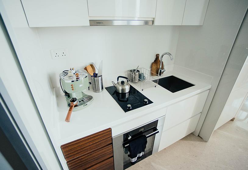 Malá Kuchyň žádný Problém Využijte Prostor Chytře A