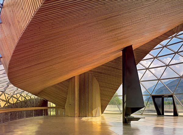 Je možné integrovat architekturu do krajiny?