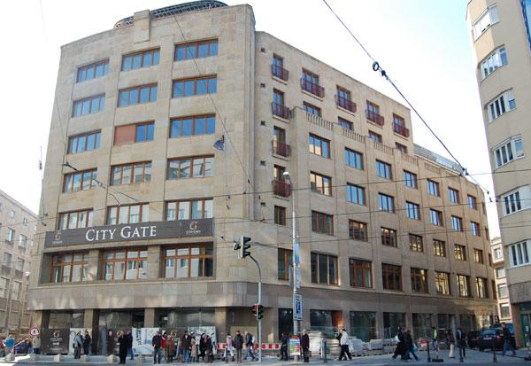 Kolaudace funkcionalistické budovy v centru Bratislavy