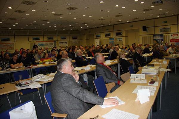 Konference Izolace 2010 přivítala i přes nepřízeň počasí na 170 účastníků