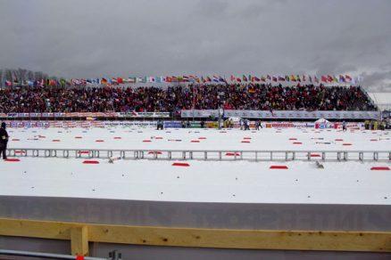 Konstrukce zlešení pro MS vklasickém lyžování vLiberci 2009