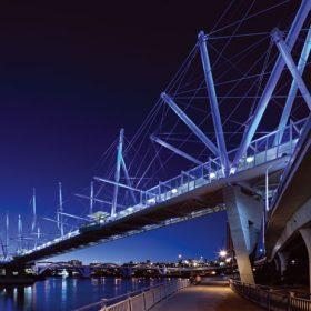 Konstrukčně jedinečný most Kurilpa