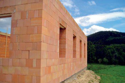 Konstrukční zásady jednovrstvého cihelného zdiva