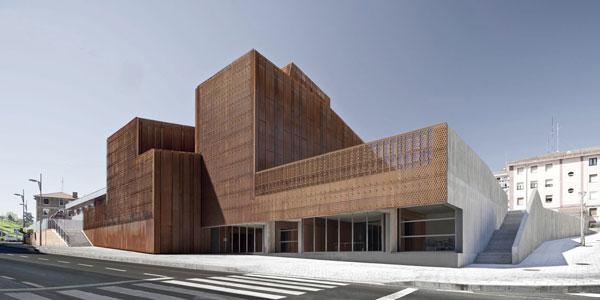 Kulturní dům v hornické oblasti Španělska