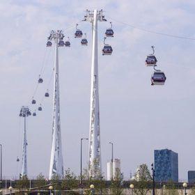 Lanovka nad Londýnem