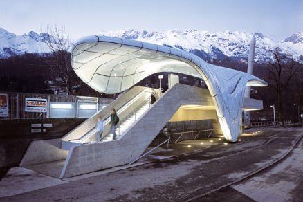 Ledovcová inspirace Zahy Hadid