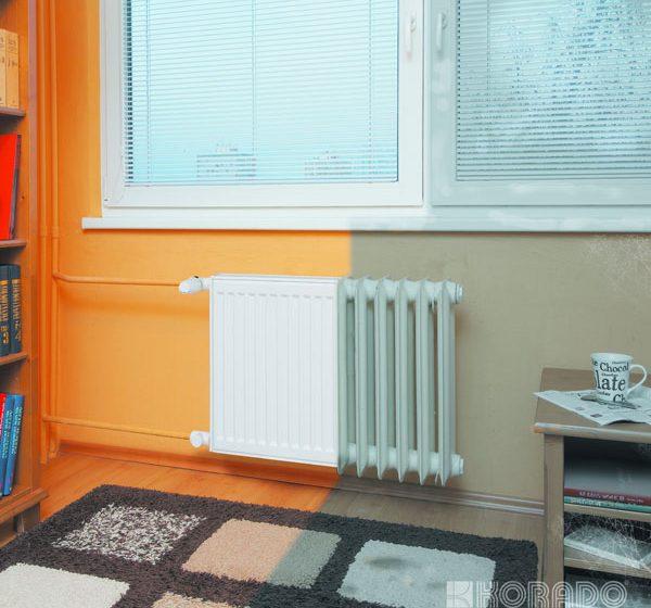 Letošní novinka pro rychlou výměnu starého radiátoru