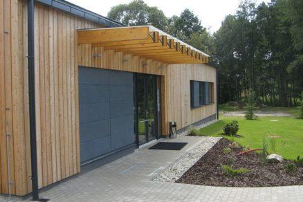 Levná, rychlá a úsporná dřevostavba zdravotního střediska