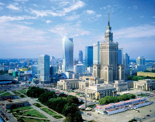 Libeskind staví mrakodrap ve Varšavě