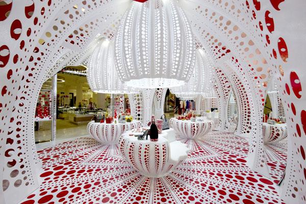 Louis Vuitton pod ultra lehkou hliníkovou konstrukcí
