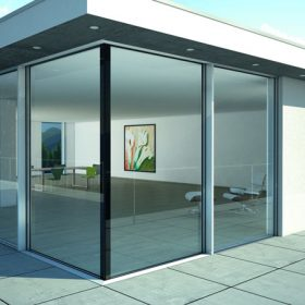 Luxusní propojení interiéru s exteriérem
