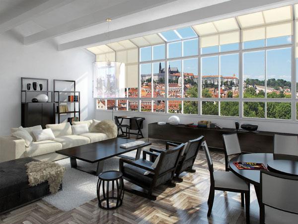 Luxusní rezidenční projekt v centru Prahy