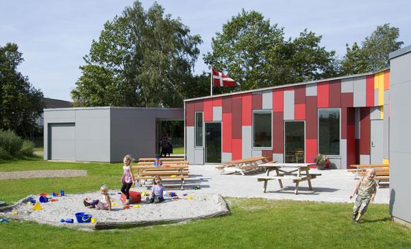 Mateřská škola v dánském Taulov