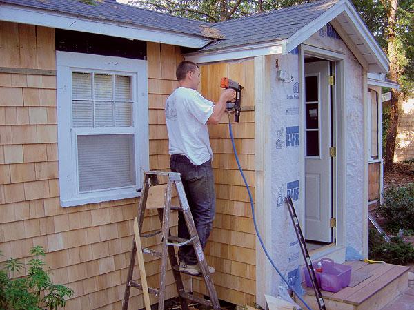 Mechanizace při realizaci dřevěných staveb