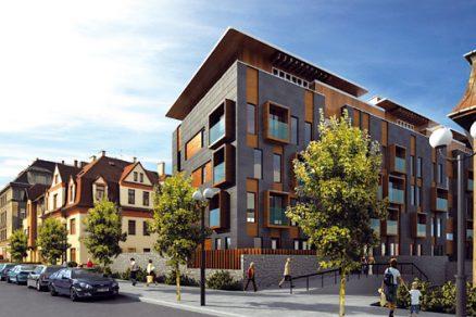 Městské bydlení usadu