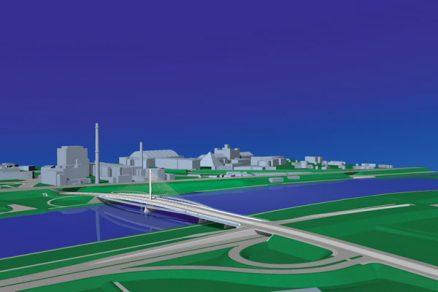 Městské mosty pro auta i pro lidi