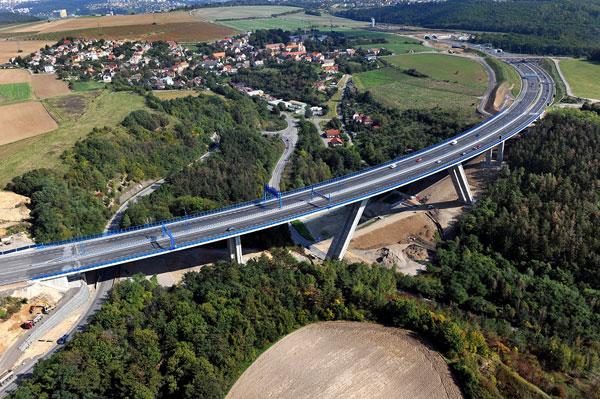 Mezinárodní ocenění pro most přes Lochkovské údolí
