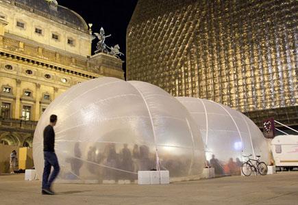 Mezinárodní workshop pro vytvoření festivalového pavilonu