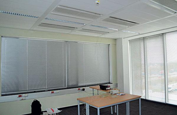 Mikroklima vnitřního prostoru administrativní budovy