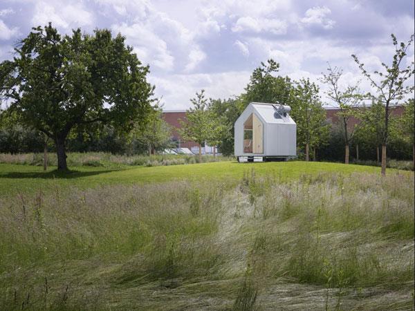 Minimální dům od Renza Piana