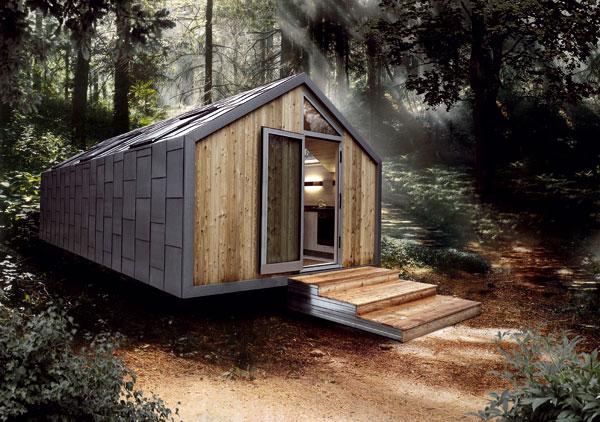 Mobilní dům pro mobilní život