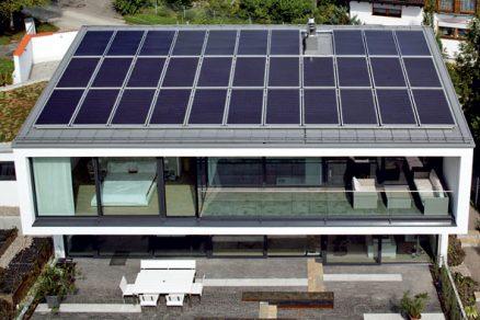 Moderní energeticky úsporný rodinný dům s výhledem