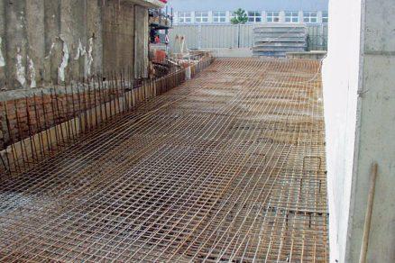 Monolitický beton abezpečná práce svýztuží
