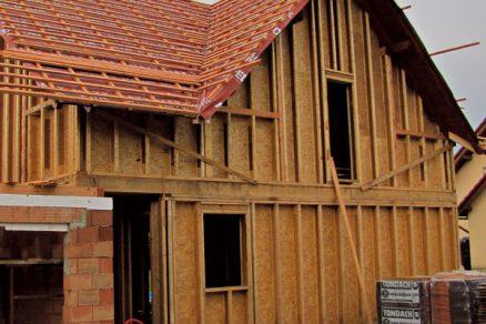 Montovaná dřevostavba svyužitím výrobků STEICO