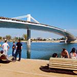 Most přes řeku Ebro vKatalánsku