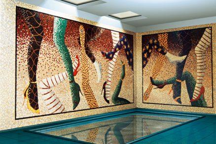 Mozaika dodá stavbě originalitu