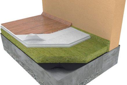 Možnosti izolací pro podlahy a podhledy
