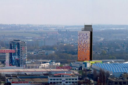 Mrakodrap v jihomoravské metropoli