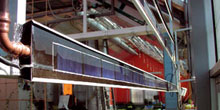 Multifunkční solární kolektory pro integraci do budov