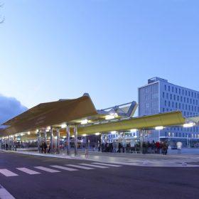 Multimodální nádraží ve Francii