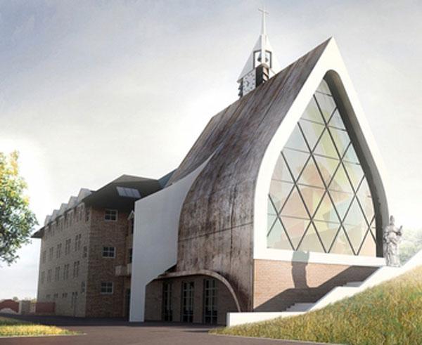 Na Benešovsku vznikne unikátní kostel