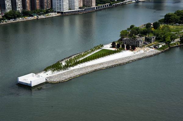 Nadčasový park Louise Kahna v New Yorku