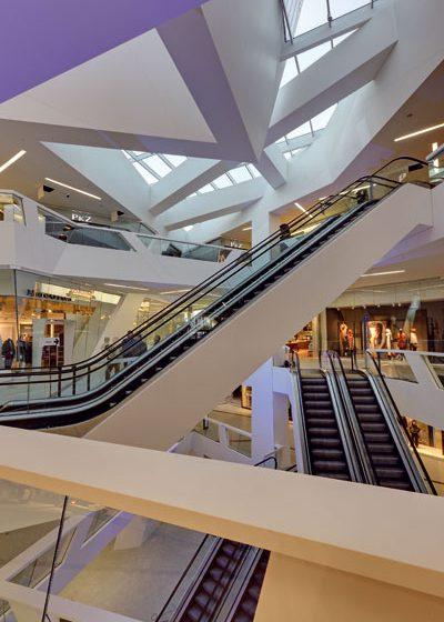 Nákupní centrum Westside od Daniela Libeskinda