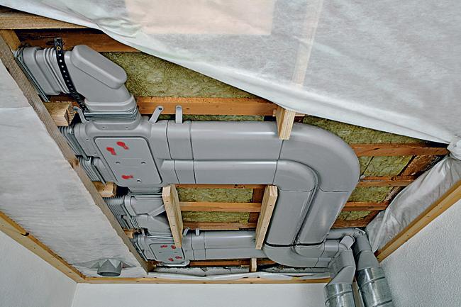 Návrh a realizace řízeného větrání s rekuperací tepla