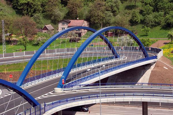 Nejlepší dopravní stavby atechnologie roku 2009