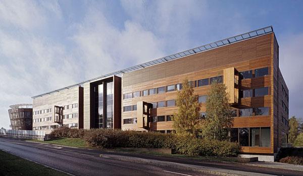 Nejvyšší dřevěná administrativní budova v Evropě
