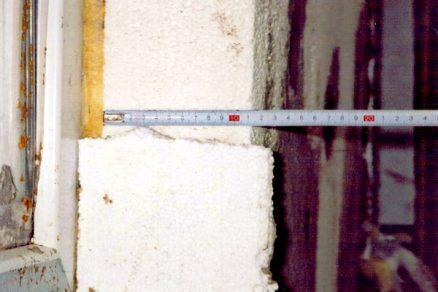 Nesprávný způsob zateplování panelových objektů dvěma odbornými firmami