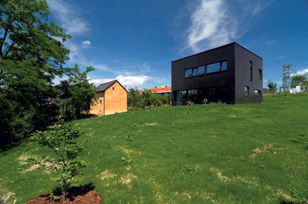Nízkoenergetická dřevostavba od ateliéru Sporadical