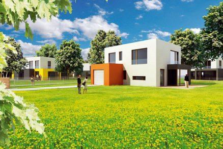 Nízkoenergetické domy vSedlci uLíbeznic